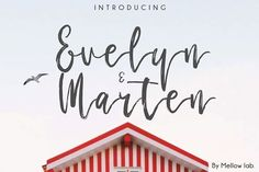 Evelyn & Marten by Mellow Design Lab on @creativemarket