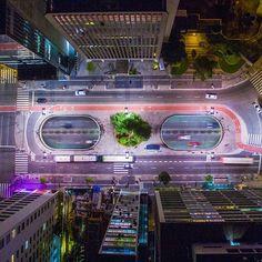 Av. Paulista - São Paulo, Brasil   Brasileiro clica imagens aéreas de São Paulo que vão te fazer olhar pra cidade de um jeito diferente | Nômades Digitais