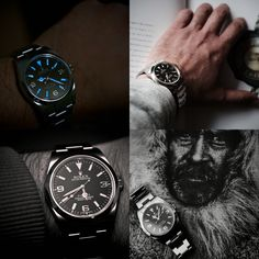Men's Watches, Dream Watches, Cool Watches, Watches For Men, Fancy Clock, Rolex Explorer, Lucky Ladies, Vintage Rolex, Breitling