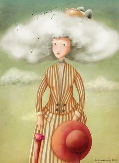 Ilustração da autoria de Carla Nazareth.
