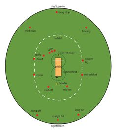 In the center of an oval-shaped field there is a rectangular strip - the pitch. Cricket Poster, Cricket Logo, Cricket Tips, Cricket Games, Test Cricket, Cricket Bat, Cricket Sport, Cricket Coaching, Ms Dhoni Wallpapers
