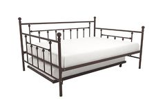 Full Size Trundle Bed, Full Daybed, Daybed With Trundle, Space Saving Beds, How To Clean Metal, Leather Furniture, Bed Frame, Toddler Bed, Shabby Chic