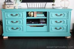Repurposing Old Windows into Furniture | DIY Repurpose a dresser into a night stand @ Ask Anna Moseley HERE