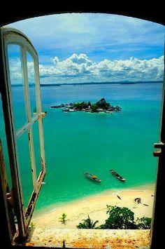 Window view Indonesia
