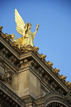The Angel of the Opera, Paris Opera House