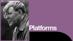 Platforms: Alan Bennett & Nicholas Hytner, National Theatre  *I was in the same room as Alan Bennett for a whole hour! Still recovering from this.