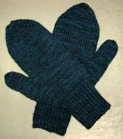 Free Knitting Pattern - Adult Gloves & Mittens: Basic Men's Mittens
