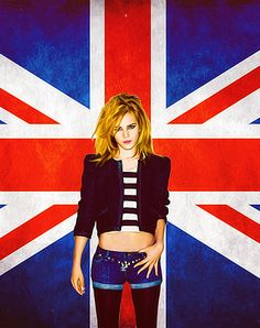 Emma Watson - She knows Union Jack