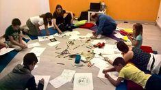 Oficina realizada em 2017, no Yoga Center, em Almada