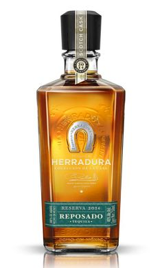 Pin for Later: Celebrate Valentine's Day All Month With Our February Must Haves Herradura 2014 Scotch Cask Finish Reposado Tequila Vodka Tequila, Best Tequila, Alcohol Bottles, Liquor Bottles, Tequila Bottles, Best Sipping Tequila, Espolon Tequila, Silver Tequila, Scotch Whiskey