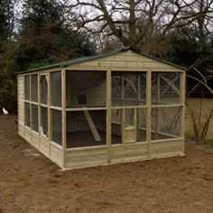 Chicken Coop and Run plus a Chicken run – 2 jobs in one day