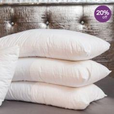 100% Silk Filled Pillows #silk #pillows