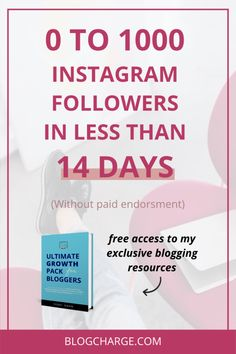 1000 Instagram Followers: Go From 0 to 1000 Followers in 14 Days Seo Marketing, Online Marketing, Social Media Marketing, Buy Instagram Followers, 1000 Followers, Copywriting, Instagram Tips, How To Start A Blog, About Me Blog