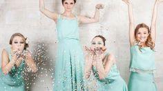 Les robes de demoiselles d'honneur à la fête