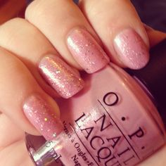 Pedal Faster Suzi! From the Holland Collection by OPI.  Topped with a coat of Katy Perry's sparkly Teenage Dream.