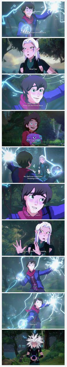 31 Ideas For Funny Anime Memes Manga Scene Prince Dragon, Dragon Princess, Rayla X Callum, Anime Expressions, Facial Expressions, Pokemon, Princess Of Power, Comic, Avatar The Last Airbender
