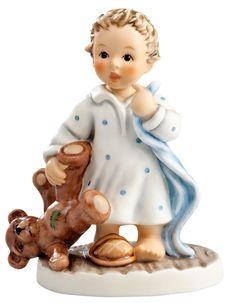 Hummel actueel | Hummel Bin noch gar nicht mude / No bed please | Peter's Hummel Home | De grootste collectie beeldjes | Hummel Disney Goebe...