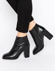 Daisy Street | Daisy Street Square Toe Heeled Ankle Boots