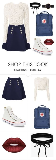 """Sweet"" by ashleigh4xo ❤ liked on Polyvore featuring Tommy Hilfiger, A.L.C., Converse, Fjällräven, Lime Crime, Boohoo and Abbott Lyon"