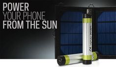 Switch 8 Solar Recharger Powers