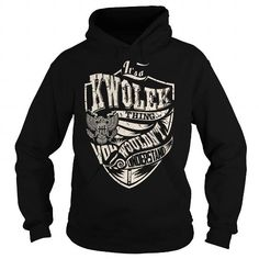 I Love Its a KWOLEK Thing (Eagle) - Last Name, Surname T-Shirt T shirts