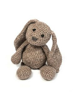 Crochet bunny - I think I love this