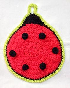 Ladybug Potholder