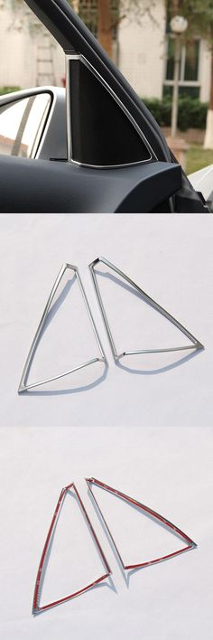 [Visit to Buy] Chrome Interior Door Speaker Frame Trim For Mercedes Benz C Class W204 C180 C200 C260 2008-2014 Car Styling ABS Accessories #Advertisement