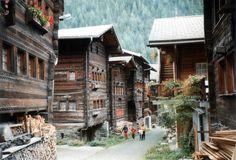 KippelLötschental WoodenHouses - Village - Wikipedia