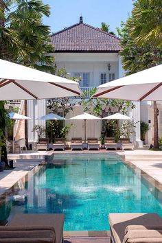 The Colony Hotel offers guests grown-up elegance, just steps away from the beach in downtown Seminyak. #Indistay | Bali