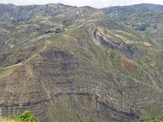 Thrust Faulting and Folding in the Chitano River Valley of Colombia