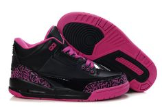 premium selection 83c91 644cc Womens Air Jordan 3 Black Peach Shoes Nike Boots, Nike Tights, Nike Heels,
