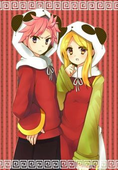 Natus and Lucy. I think this is my favorite pic of them