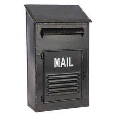 Poštovní schránka Mail, 24x12,5x41 cm