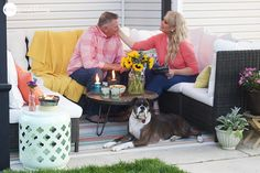 "How To Create The Outdoor ""Living Room"" Of Your Dreams - One Good Thing by JilleePinterestFacebookPinterestFacebookPrintFriendly"