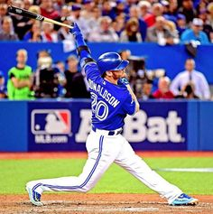 On his 30th birthday you KNOW the AL MVP is having a birthday BASH. Mlb Players, Baseball Players, Baseball Field, Baseball T Shirt Designs, Baseball Shirts, Baseball Cards, Josh Donaldson, Toronto Blue Jays, Major League