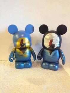 Disney Vinylmation 3 Ariel Sunse/Moont Custom by PanOnBoardCustoms, $50.00