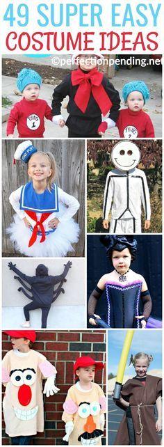 DIY Halloween Costumes for Kids DIY Halloween, Halloween costumes - super easy halloween costume ideas