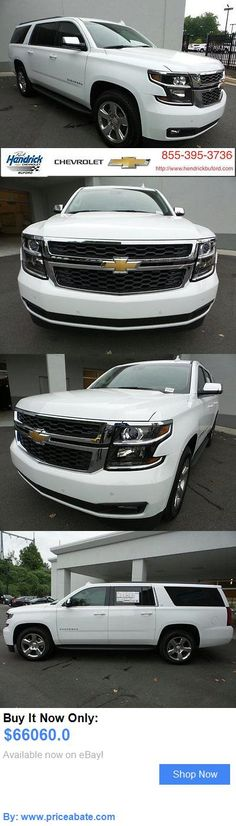 SUVs: Chevrolet: Suburban 2Wd 4Dr 1500 Lt 2 Wd 4 Dr 1500 Lt New Suv Automatic Summit White BUY IT NOW ONLY: $66060.0 #priceabateSUVs OR #priceabate