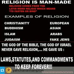 And HOLY days. A Lifestyle not religion! Wake up!!! #HebrewIsraelites spreading TRUTH #ISRAELisBLACK ... Praise the MOST High AHAYAH and His Son YASHAYA (Savior) Christ