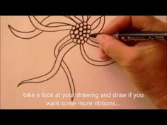 How to draw tanglepattern Squid by Certified Zentangle Teacher Ellen Wolters