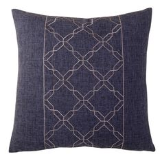 Cross Chain Throw Pillow