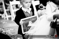 Cute picture - Here comes the bride