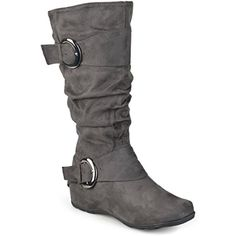 ac1262211d Womens Extra Wide Calf Mid-calf Slouch Riding Boots -- Learn more by  visiting