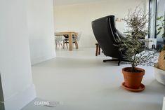 Gietvloer in een appartement Net