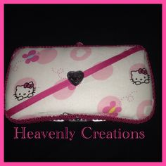 Hello Kitty Diaper Wipe Case