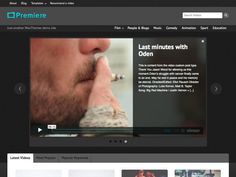 Premiere is a powerful video-based theme that is custom post driven, separating your video posts from your blog content. With a custom single video page template with great social sharing links, the option for your site visitors to recommend videos and a featured home page slider this theme helps videographers, and movie fans alike – with great custom-ability.