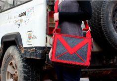 Gmail messenger sling bag