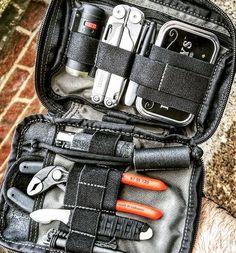 Maxpedition Fatty EDC Everyday Carry Pocket Organizer Interior