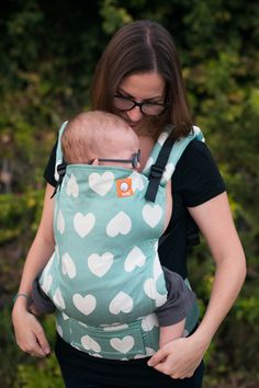 Tula Love Creme de Menthe TULA BABY CARRIER.  I need this more than life.